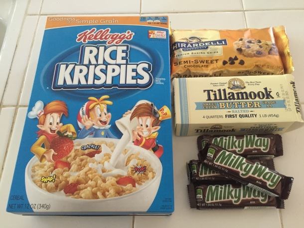 Let Me Upgrade You: Milky Way Rice Krispies Treats | @innatsshoes